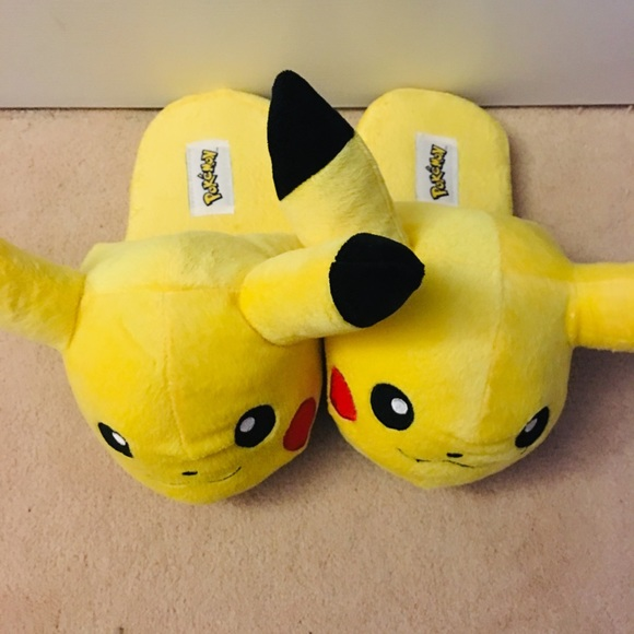 Pikachu Pokemon Slippers photo of the